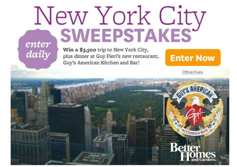 About New Sweepstakes - the new york city sweepstakes