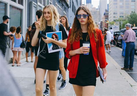 Looks Of The Week by Recap The Chicest Coffee Looks From New York Fashion Week
