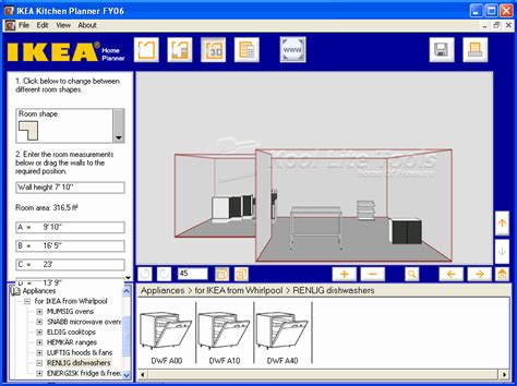 Kitchen Planning Tool by Kool Lite Tools Kitchen Planner Tool 2008