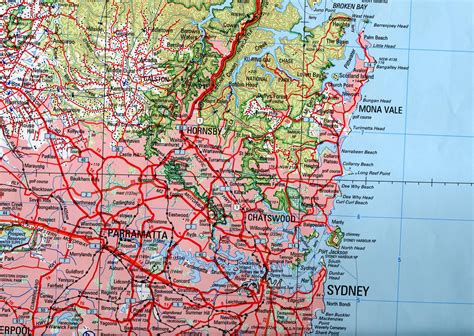 sydney map fundamentals of mapping