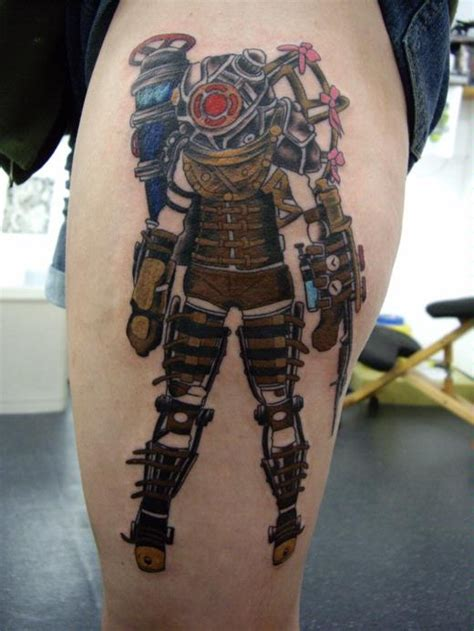 bioshock wrist tattoo another gorgeous bioshock tattoos