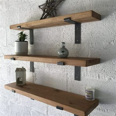 l with shelves oak shelves kiln dried with l shape brackets celtic timber