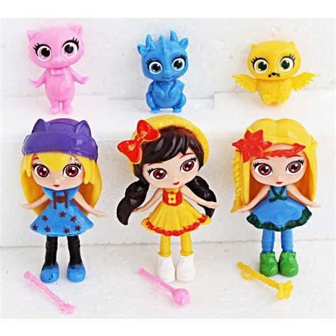 Trolls Set Isi 6 toko mainan anak toko mainan hafiz doll