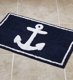 anchor bath rug for my husband cause im a proud navy for the home anchor