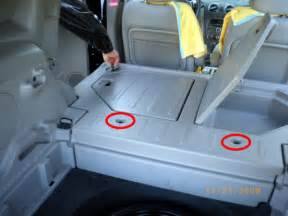 install rear seat in panel chevy hhr network