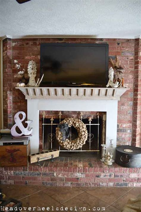 how to build a mantle on a brick fireplace woodworking