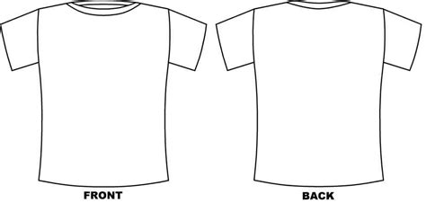 t shirt template t shirt design template cliparts co