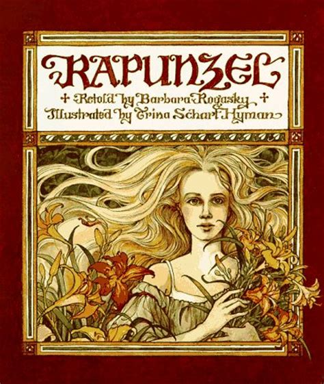 rapunzel picture book rapunzel by barbara rogasky