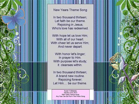 christian new year poem christian images in my treasure box new years poems