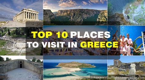 best places in greece top 10 places to visit in greece schengen visa