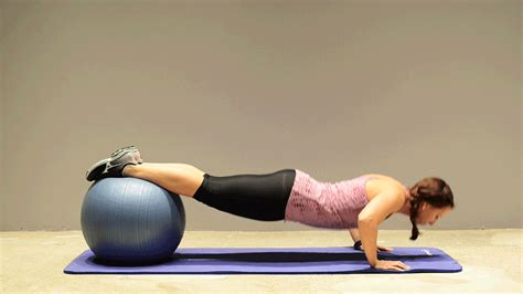 imagenes yoga mat 9 of the best stability ball exercises you re probably not