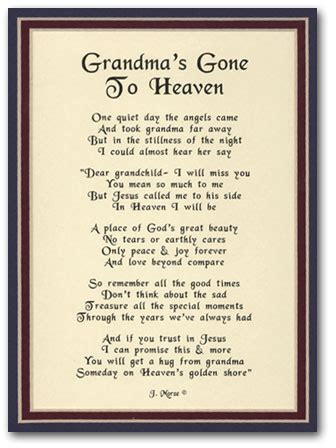 Deceased Grandmother Birthday Quotes I Miss U Grandma Sending All My Love Up To U I May Not