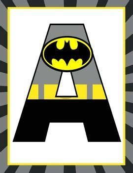 free printable alphabet banner for classroom super hero classroom decor batman banner letters