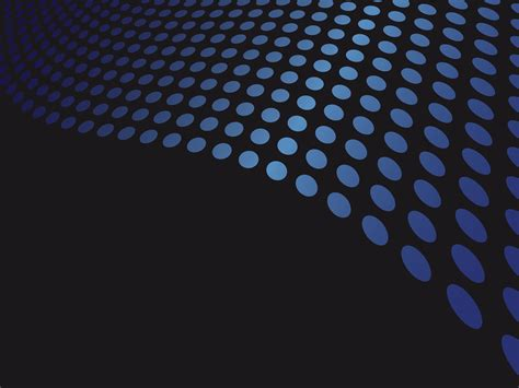 template background blue dots powerpoint templates abstract free ppt