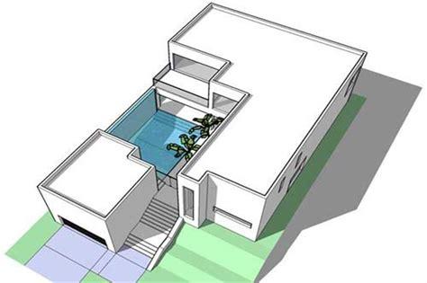 Minimalist ultra modern house plans