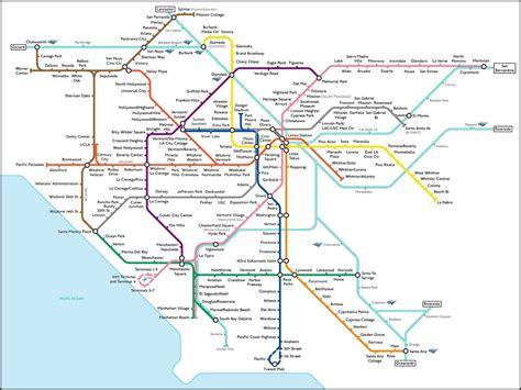 Los angeles metro map dr odd