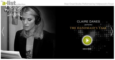claire danes the handmaid s tale how to get your favorite audiobooks with audible