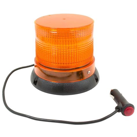 Led Lightlu Hias 40 Led Warna blazer international 12 volt led emergency strobe beacon light c48aw the home depot