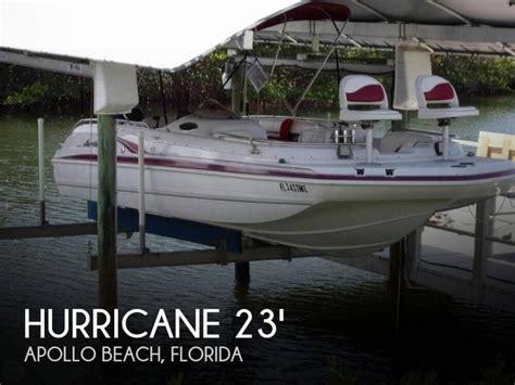 fun deck boats for sale hurricane fun deck 232 boats for sale