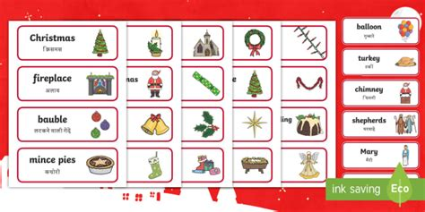 new year topic words topic word cards flashcards tree