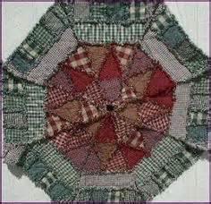 tree skirt pattern primitive rag quilt