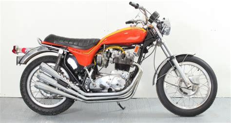 1973 triumph motorcycles trident hurricane classic driver market