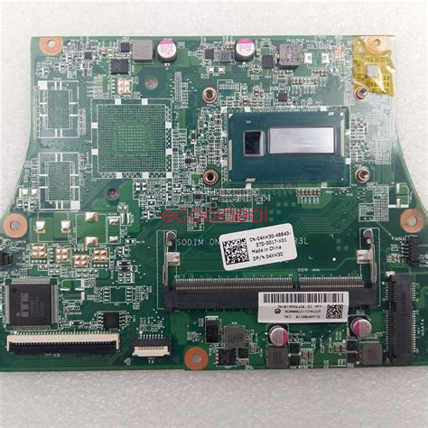Laptop Dell Vostro 5470 I3 for dell vostro 5470 laptop motherboard dajw8cmb8c0 4xh30