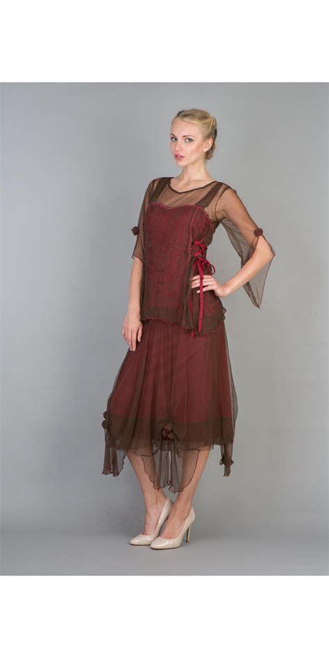 Natahua Dress nataya 40232 vintage inspired assymmetrical dress