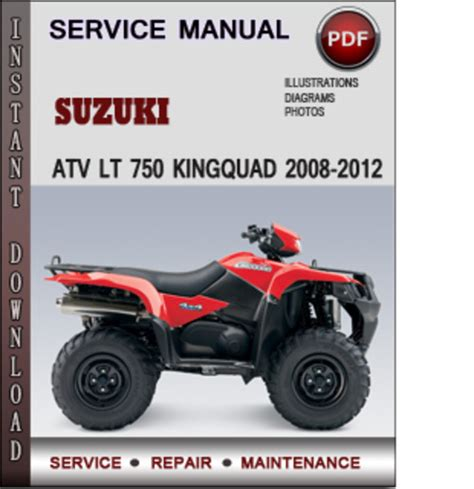 small engine repair manuals free download 2008 suzuki xl7 interior lighting suzuki atv lt 750 kingquad 2008 2012 factory service repair manual