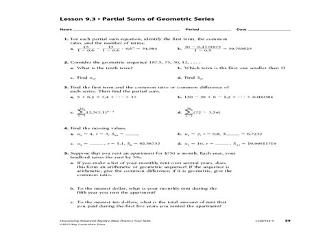 Arithmetic Sequence Practice Worksheet by Arithmetic Sequences Worksheet Lesupercoin Printables
