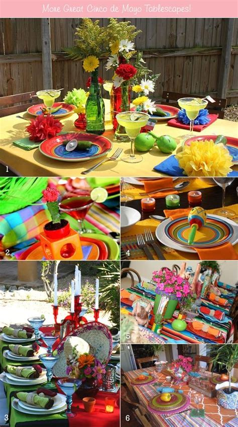 mexican style christmas decoration in pinterest table setting ideas for mexican cinco de mayo tablescapes ware