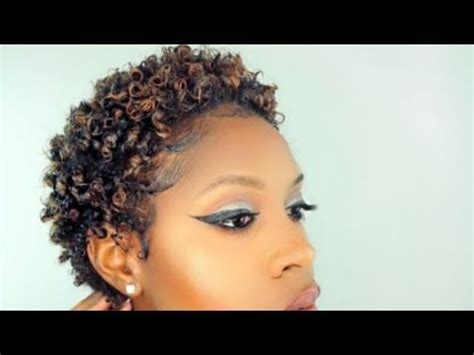 defined curls twa pixie hairstyle on natural hair youtube 17 best images about the cut life fab short cuts on