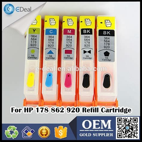chip resetter for hp 920 ink cartridges wholesale price inkjet printer ink tank for hp 178 862 920