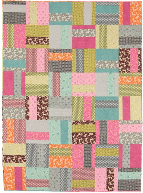 Simple Patchwork - easy quilts to sew in a weekend stitch this the