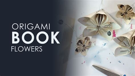 Origami Flower Book - origami book flowers diy