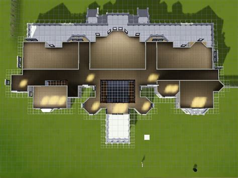Mod The Sims Sims 3 Castle Floor Plans