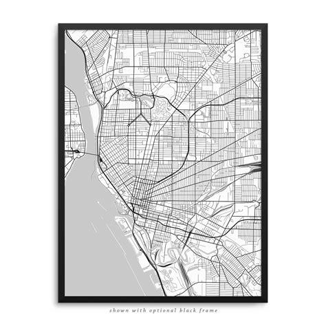 map of new york city framed buffalo new york poster city map decor