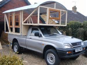 Diy Hard Floor Camper Trailer Plans this homemade truck camper is a work of art