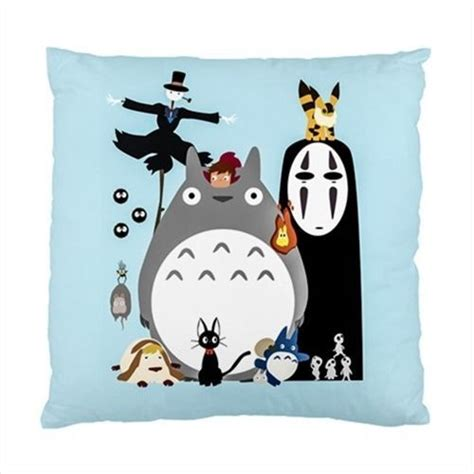 cushion totoro home decor anime japan studio