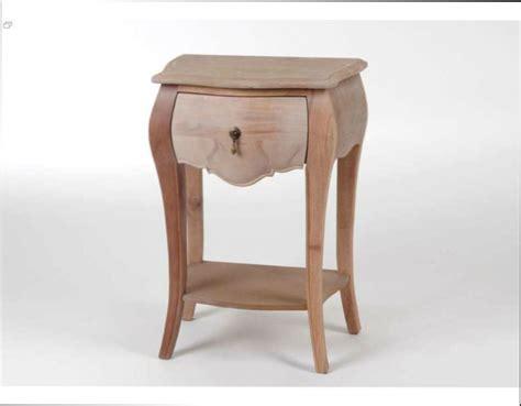 Table De Chevet A Peindre