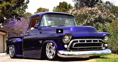 1957 Chevy 3100 Custom Truck For Sale | top notch 1957 chevy 3100 custom pick up truck hot cars