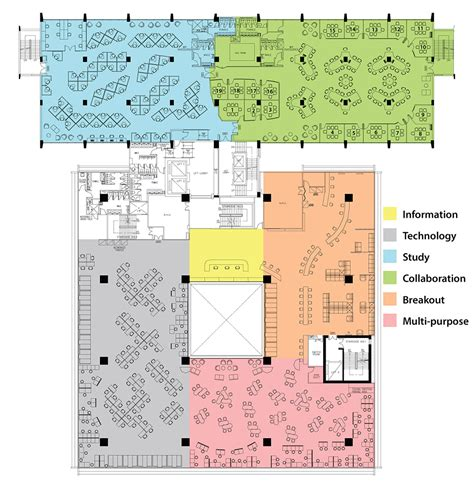 3 floor plan hkul library level 3