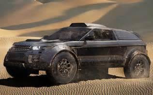 range rover evoque goes to dakar rally with bmw 3 0 liter