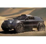 Range Rover Evoque Goes To Dakar Rally With BMW 30 Liter Diesel