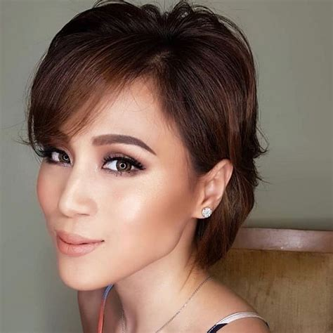 toni gonzaga latest hairstyle wow toni gonzaga sports short hair for the first time