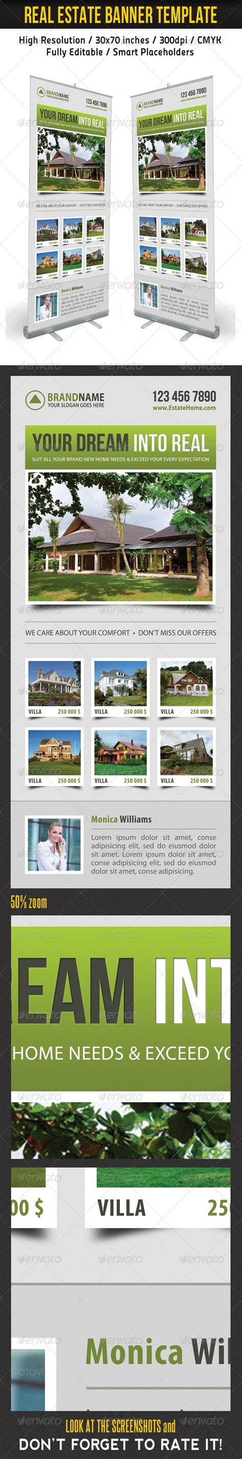 Real Estate Banner Template 08 Signage Download Best Gfx Download Real Estate Banners Template