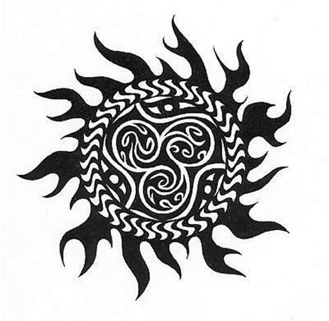 imagenes tribales aztecas dise 241 os de soles tribales muy atractivos para compartir