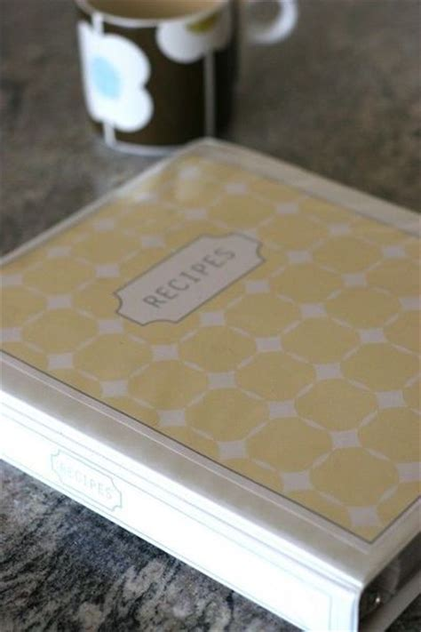 free recipe binder templates diy recipe binder free templates papercraft juxtapost