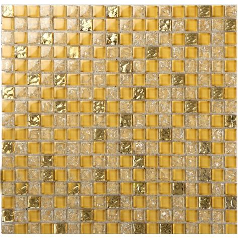 crystal glass tile backsplash border bathroom gold glass ice cracked mosaic design liner wall