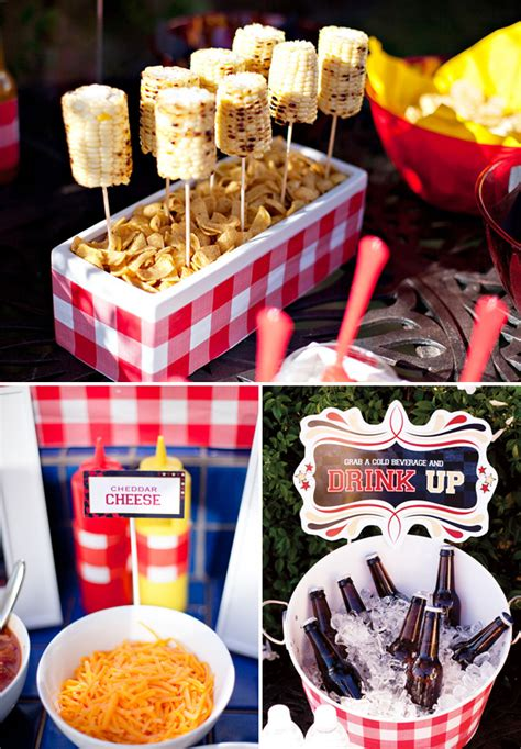 bbq ideas summer bbq theme free party printables hostess with